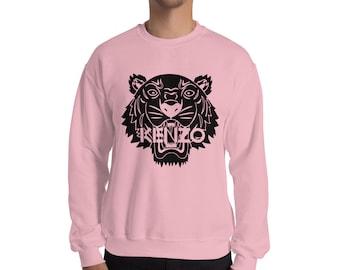Tiger sweatshirt | Etsy