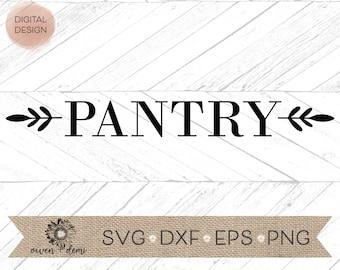 pantry sign svg