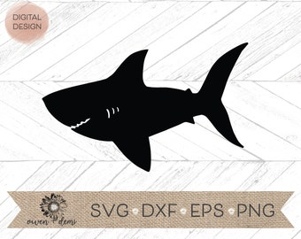 cute shark svg