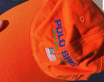 04eb3e5f Vintage Polo Sport Hat