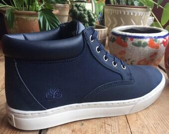 3c88c45183 Timberland Men s Dauset Chukka Black Iris Boots Leather Textile Rubber Uk Size  9.5 SKU  A1PFG
