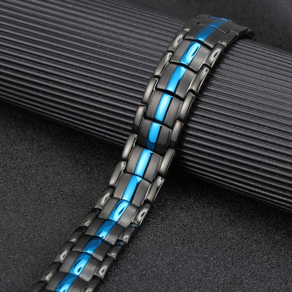 Gorgeous Magnetic bracelet men women arthritis pain relief energy stress anxiety relief St Patricks Day Gift