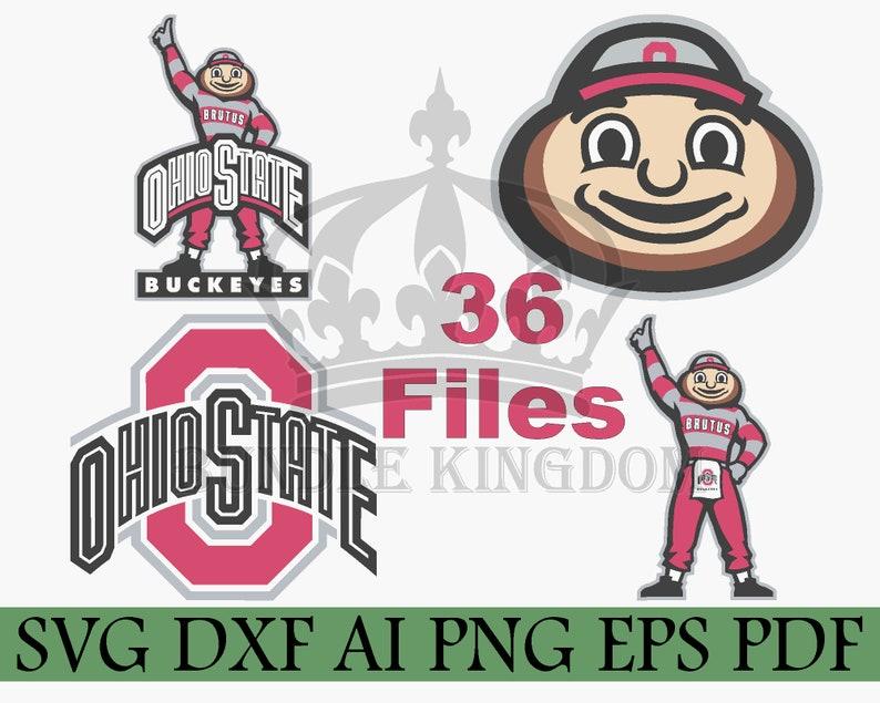 Ohio State Buckeyes Svg Buckeyes Svg College Svg Bundle Etsy