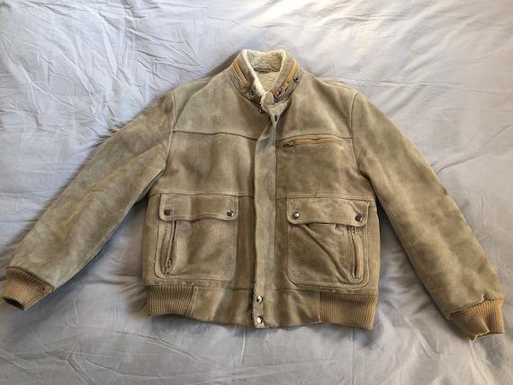Montgomery Ward Suede Jacket