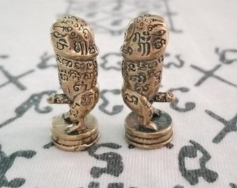 Amulet paludkik Voodoo Paladkik Thai Amulet Talisman Fully Love Luck Charm Trade Wealthy