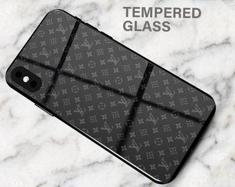 68545d78536f Louis Vuitton LV Supreme Black Phone Case iPhone 8 Case iPhone 7 Case XS  Max iPhone XR iPhone X iPhone 8 Plus 7 Plus