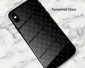 005b4016367e5e Louis Vuitton LV Supreme Black Phone Case iPhone 8 Case iPhone 7 Case XS  Max iPhone XR iPhone X iPhone 8 Plus 7 Plus