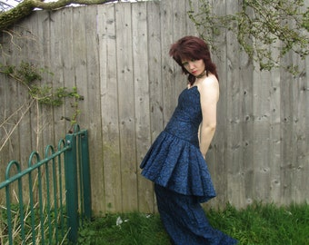 Burlesque Kleid Etsy