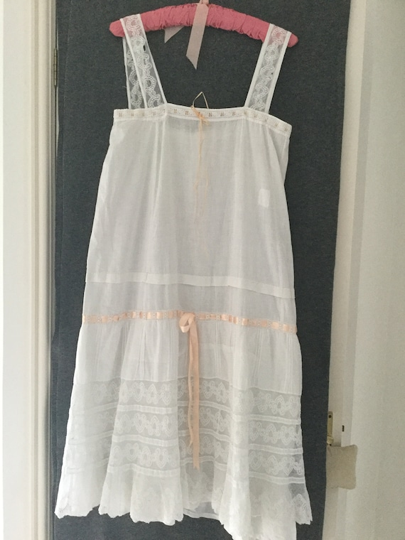 Antique French under dress