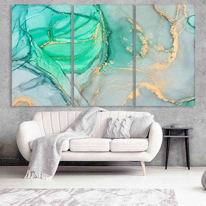 Canvas wall art Marble art Abstract wall art Marble canvas print Marble poster Fashion wall art Abstract canvas art Gold glitter print Decor