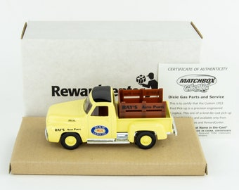 1953 Ford Pick Up Truck, Die Cast Pick Up, Matchbox, Collectibles
