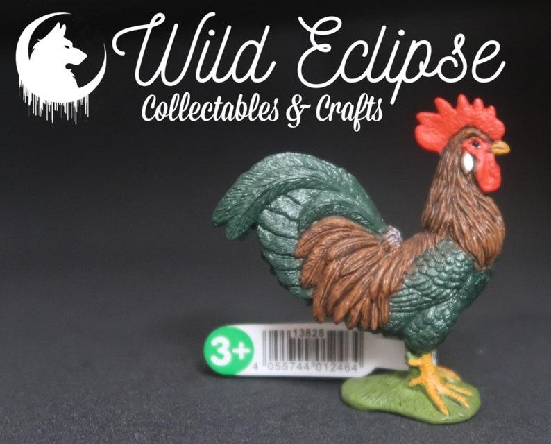 Rooster Figure New Schleich 13825 Farm World