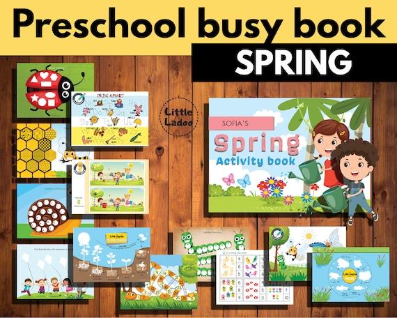 The mega Spring activity book for pre-schoolers  Preschool