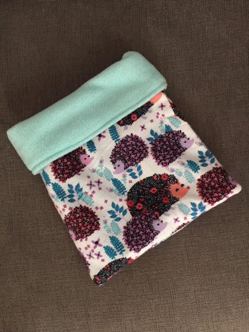 Flower Power Hedgie Snuggle Sack