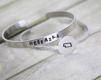 love nebraska nebraska floods stainless steel chain flood relief fund copper nebraska pendant nebraska strong fundraiser