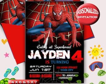 Maison Spiderman Personnalisé Fête Danniversaire