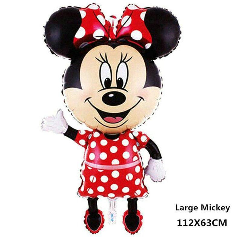 Jumbo Size Mickey Minnie Mouse Balloon Kid Birthday Party Celebration