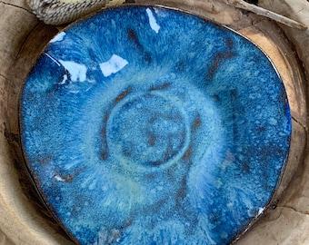 Handmade Wavy Clay Bowl/ Plate