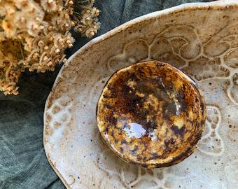 Handmade Ceramic Spice Bowl