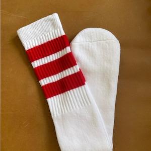 Green White Adult Size 9-11 Knee High Socks 12 packStriped Accessory  Sock Monkey  Sock Toy  Costume School Spirit