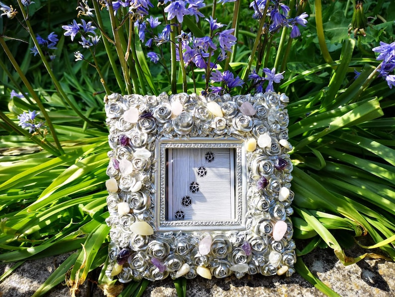 Tarot art Rose Picture Frame Crystal Photo Frame