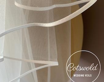 Waist Length Veils