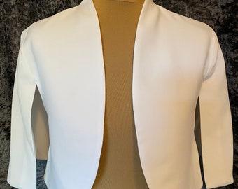 Beautiful Cape Jacket - Wedding Dress,  Cover Up,  Accessories,  Bridal Bolero, Bridal Cape, Bridal Jacket