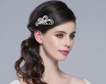 Vintage Enchanting Beauty Bridal Hair Clip, Bridal Accessories, Bridesmaid & Bride Hair Clips