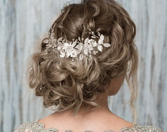 Vintage Dream Hair Comb, Beautiful Bridal Hair Comb, Silver or Gold, Bridal Accessories, Bridesmaid Hair Combs
