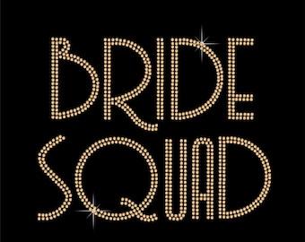 Bride Squad Wedding Veil, Personalised Hen Party Bridal Veil, Choice of Veil & Design, Personalised Veil, Bride Crystal Veil, Custom Design