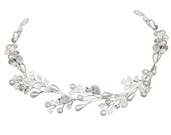 Dainty Diva Hairvine, Hair Accessories, Available in Silver, Bridal Accessories, Bridal Hair Vine, Wedding Accessories