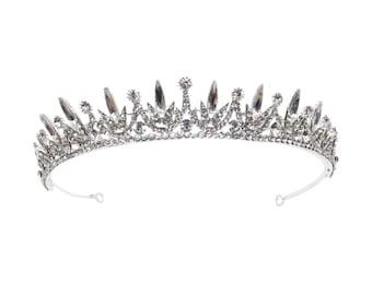 Stunning Dainty Starlet Bridal Tiara, Wedding Tiara, Bridal Accessories, Silver Tiara, Brides, Hair Accessories