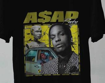 0941b267 Asap Rocky T Shirt Testing, Asap Rocky Shirt, Asap Rocky Tee, Asap Rocky  Homage tee, Asap Rocky Clothing Clothing Unisex All Size S-2XL