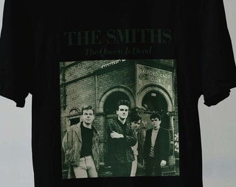 7d2b0ca2af59 The Smiths T-Shirt The Queen Is Dead Rock Band Retro Vintage Clothing  Unisex All Size S-2XL