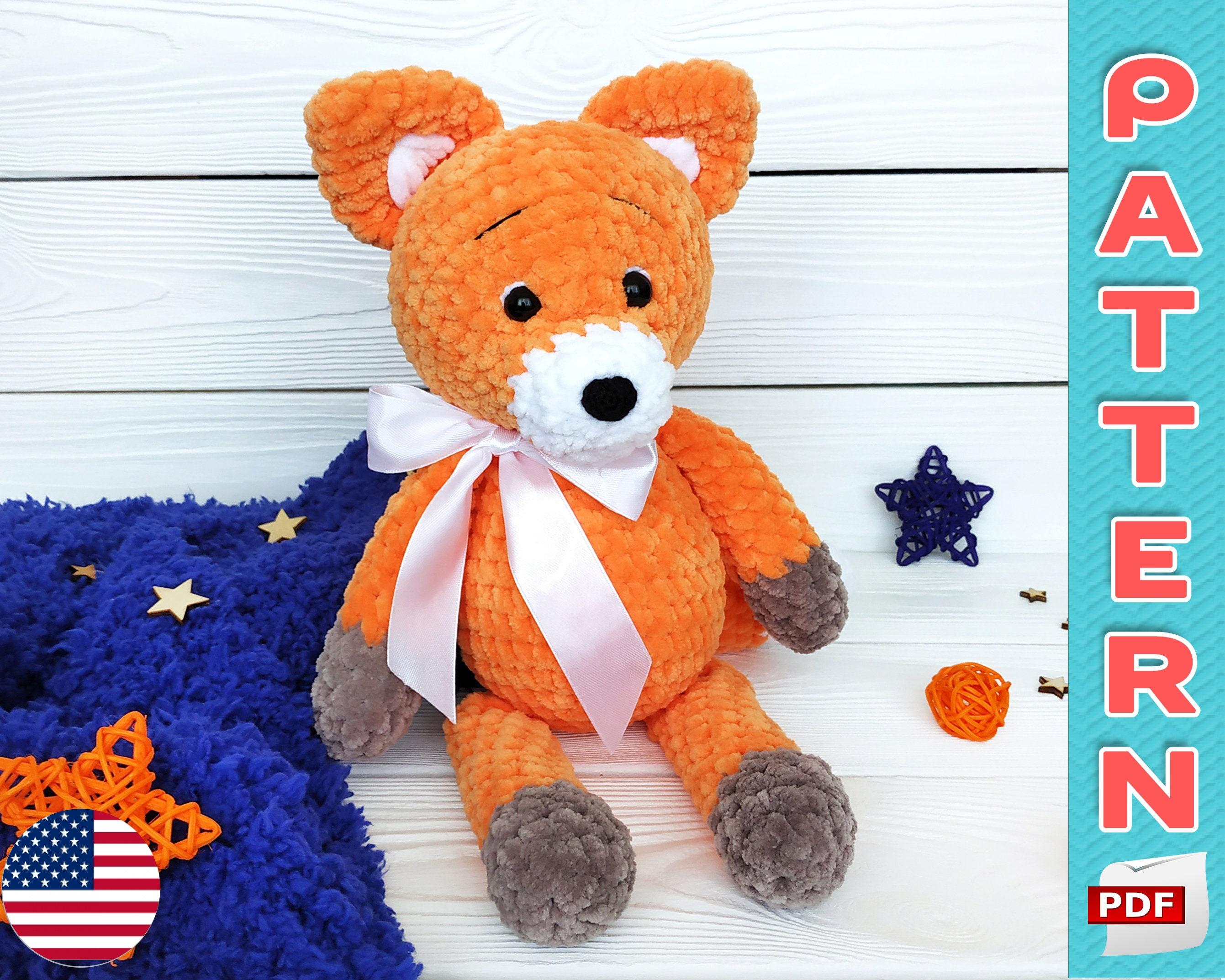 Fox With Goose Stuffed Toys Cute Fox Amigurumi Animal Foxes ... | 2146x2682