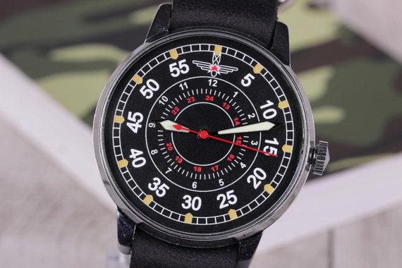 Wrist watch Raketa Pilot Laco, Vintage Watch, Mech