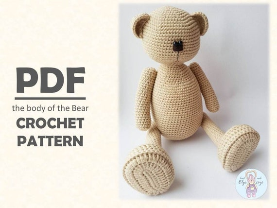 Amigurumi Crochet Bear Pattern | Supergurumi | 428x570