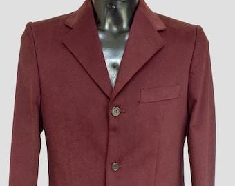 2d234fb6c7d4fb Vintage paars jas-Antica Sartoria Acquaviva-gemaakt in Italië