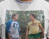Buried Alive - Step Brothers Sublimated Image Short Sleeve Crew Neck Tee S-XXL