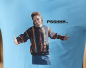 PSH PSHHH Ed Bassmaster Funny T-Shirt Tee Shirt