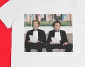 We're Here to F*ck Sh*t Up - Job Interview - Step Brothers Sublimated Image Short Sleeve Crew Neck Tee S-XXL