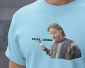 PSH PSHHH Unreal Ed Bassmaster Funny T-Shirt Tee Shirt