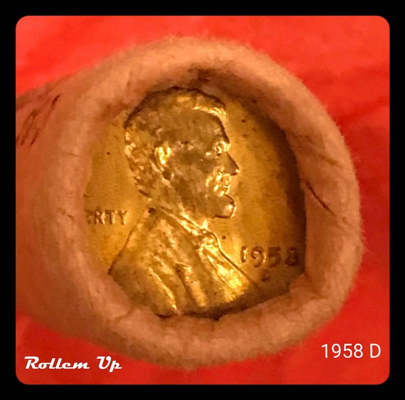 1961-D 1C Lincoln Cent BU Full Roll!!
