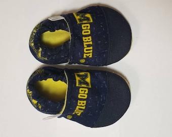 4076cca01e1f8 Items similar to University of Michigan Baby Wolverine Baby Heart ...
