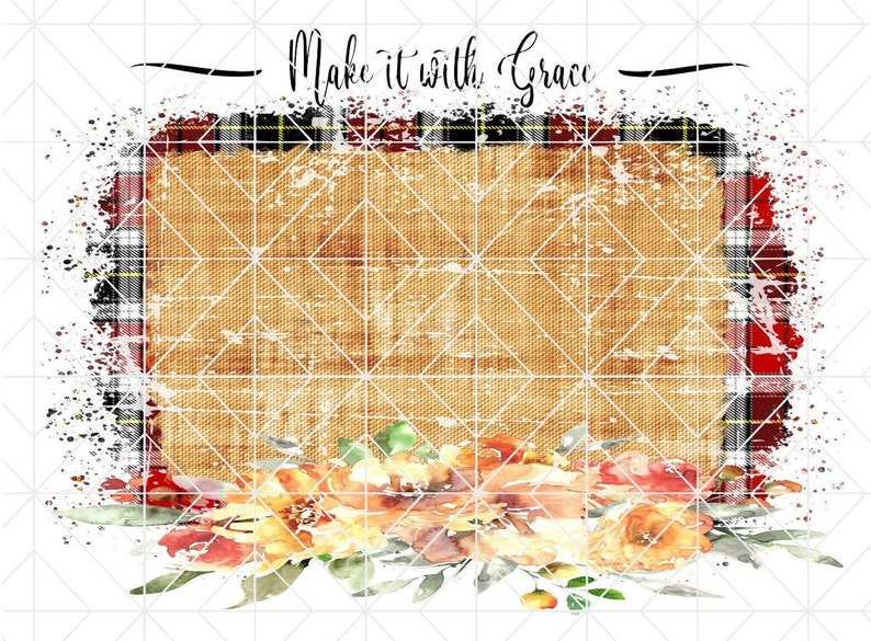 Distressed Sublimation Background wFlowers PNG Printable Vinyl Papercrafts Digital Download Perfect for Waterslides