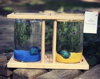 Fish Tank Decor Etsy
