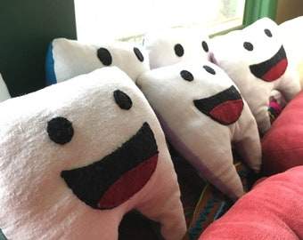 Big smile tooth pillow :)