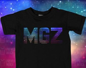 f8553fb1a064 Kids Morgz MGZ Galaxy Logo T shirt