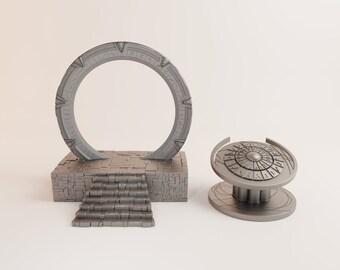 portachiavi Stargate Stargate Atlantis portachiavi regalo di compleanno Stargate Portal SG1