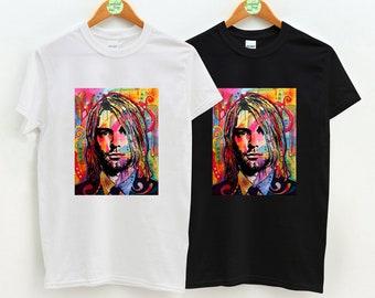 c008f7bb Kurt Cobain - Left at Exit 27 Art, Kurt Cobain, Kurt Cobain TShirt, Unisex  Adult Clothing, Hypebeast, Streetwear